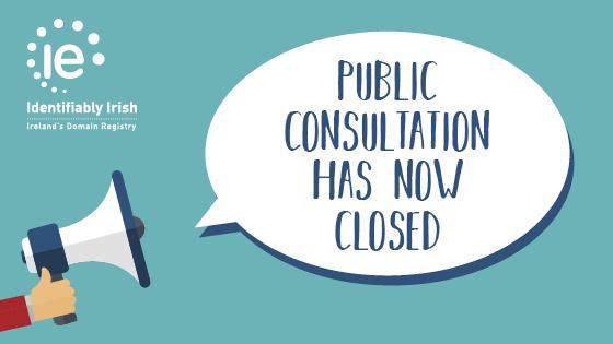 Public Consultation now closed