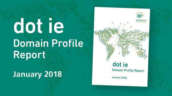 Dot ie Domain Profile Report January 2018