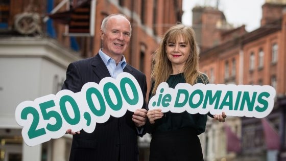 250,000th .ie domain registered