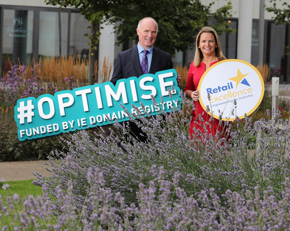 OPTIMISE Programme picture of David Curtin and Lorraine Higgins