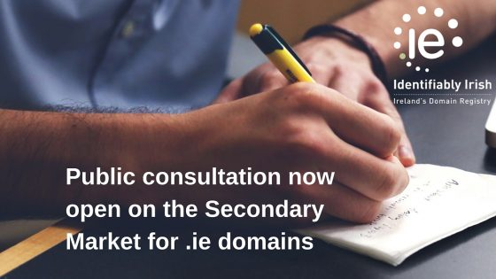 Secondary market for .ie domains