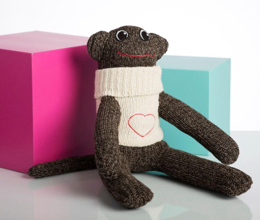 Red Rufus - Sock Monkey