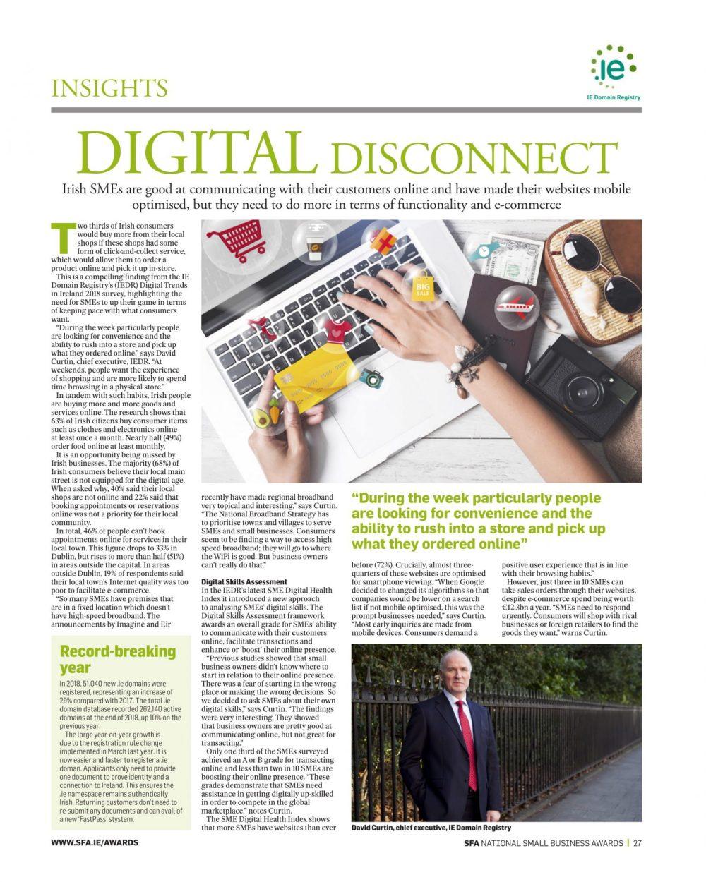 David Curtin Digital Disconnect article