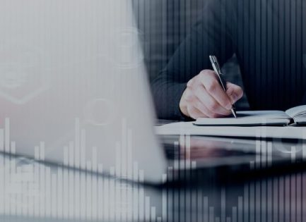 Stock image - person writing
