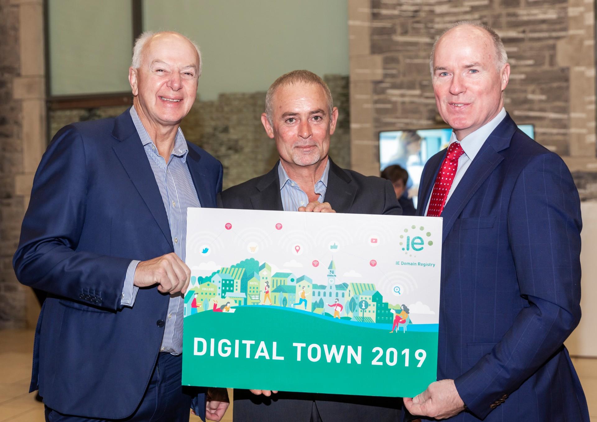Bobby Kerr, Phil Prentice and David Curtin at Digital Town Sligo (Closing Ceremony)
