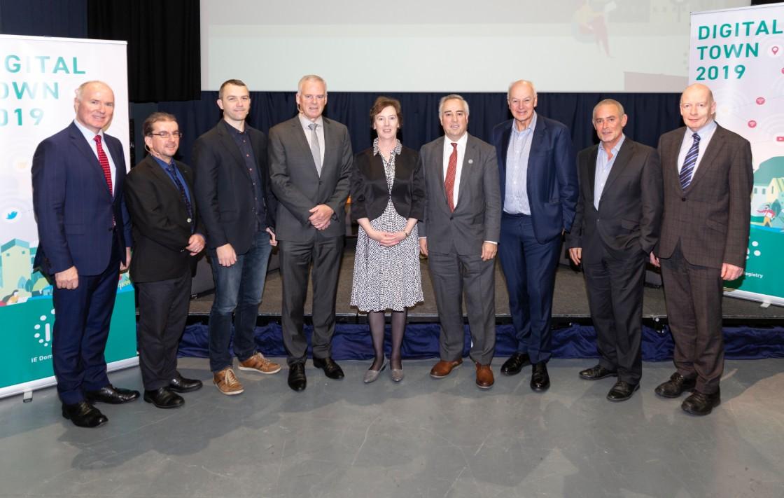 Panel of speakers for Closing Ceremony of Digital Town Sligo 2019
