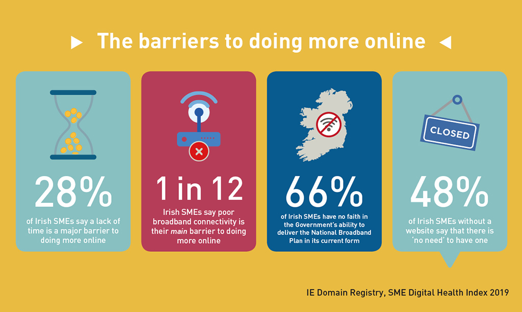 IE Domain Registry - SME Digital Health Index 2019 - The barriers to doing more online