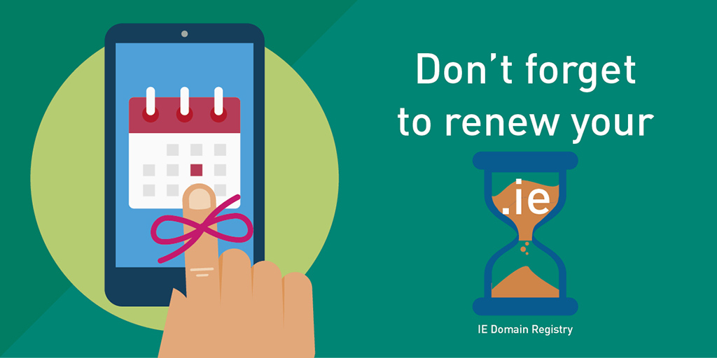 Don't forget to renew your .ie